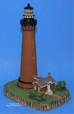 Scaasis Large Lighthouse Replica, Currituck Beach, North Carolina