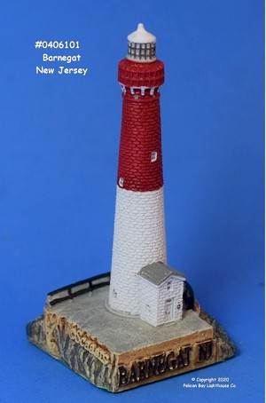 Scaasis Mini Lighthouse, Barnegat, New Jersey