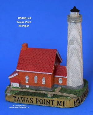 Scaasis Mini Lighthouse, Tawas Point, Michigan