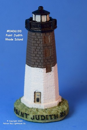 Scaasis Mini Lighthouse, Point Judith, Rhode Island
