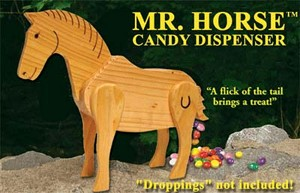 Mr. Horse Candy Dispenser