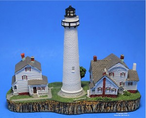 Scaasis Small Lighthouse Replica, Fenwick Island, Delaware
