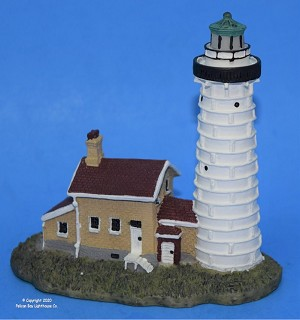 Scaasis Small Lighthouse Replica, Cana Island, Wisconsin