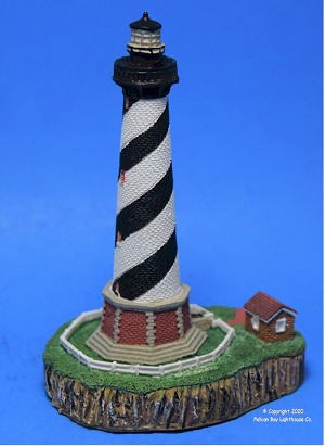 Scaasis Small Lighthouse Replica, Cape Hatteras, North Carolina
