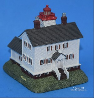 Scaasis Small Lighthouse Replica, Yaquina Bay, Oregon