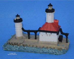 Scaasis Small Lighthouse Replica, St. Joseph N. Pier, Michigan
