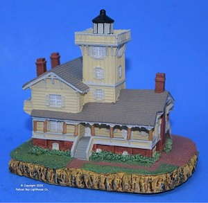 Scaasis Small Lighthouse Replica, Hereford Inlet, New Jersey