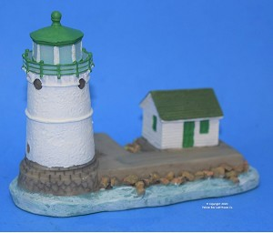 Scaasis Small Lighthouse Replica, Sunken Rock, New York