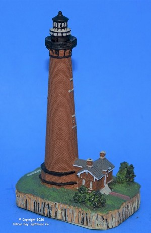 Scaasis Small Lighthouse Replica, Currituck, North Carolina