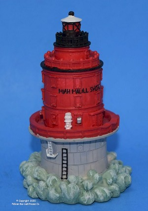 Scaasis Small Lighthouse Replica, Miah Maull Shoal, New Jersey