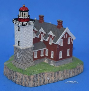 Scaasis Small Lighthouse Replica, Dunkirk, New York