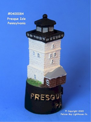 Scaasis Lighthouse Thimble, Presque Isle, Pennsylvania