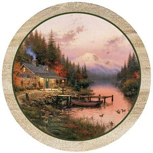 The End Of A Perfect Day Thirstystone Coasters, Set of 4