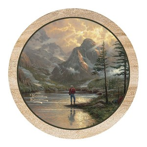 Almost Heaven Thirstystone Coasters, Thomas Kinkade, Set of 4
