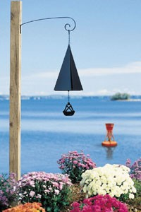 "Wind Bell, Portsmouth Harbor Bell, 9"", Triple Tones"
